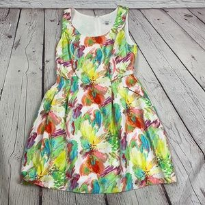 Signature by Robbie Bee fit -flare floral dress 8P